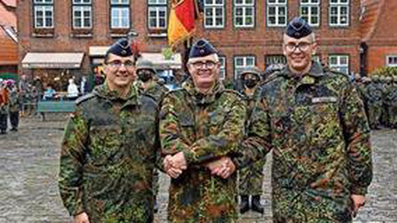 Neuer Kommandeur für Todendorf: Daniel Reif löst Stefan Plagge ab
