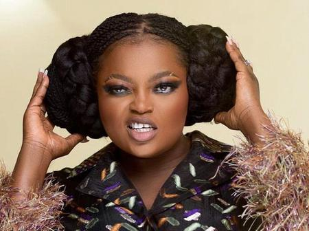 Funke Akindele Stuns In Short Gown, Shows Off Her Spotless Thighs