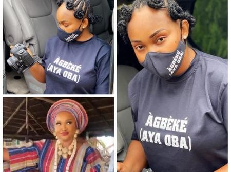 Fans React As Mercy Aigbe Shares New Location Pictures