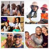 The Queen Actor Shaka Khoza With His wife and Children