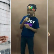 Wizkid's Son Boluwatife Balogun shows off his Rap Skills.