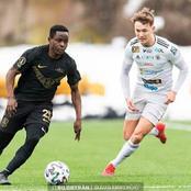 Erik Marcelo Ouma Shines As His Side Thrashes AFC Eskilstuna