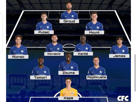 Two Best Ways Chelsea Might Choose To Lineup and Defeat West Brom