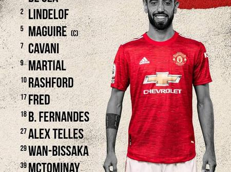 Manchester United vs Psg Confirmed Lineup