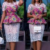 Peplum Blouse Styles With Pencil Skirts For All Adorable Ladies