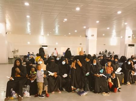 PICS: How 1,068 stranded Nigerians were rescued in Saudi Arabia, brought back to Nigeria in 3 days