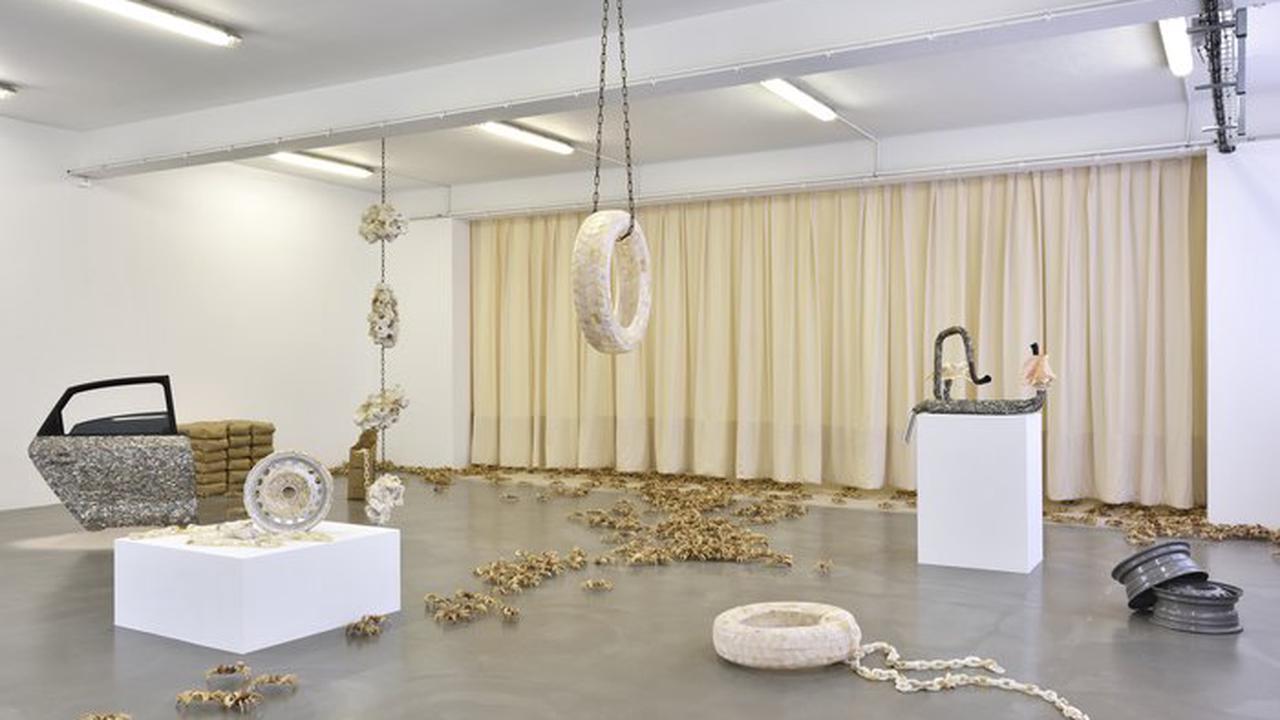 Exposition théo Mercier, nécrocéan Le Portique centre régional d'art contemporain du Havre Le Havre