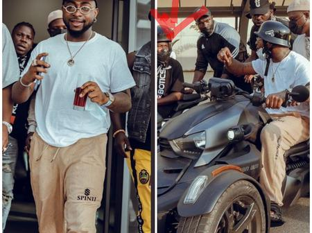 Davido Shares Lovely Photos From Ghana, See The Celebrity That He Was Seen With.