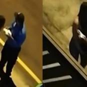 A cause d'un baiser donné à une femme sur son lieu de travail, ce policier s'est fait suspendre
