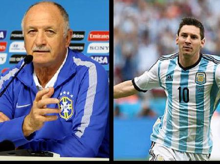Coaching Messi would be better than all my trophies - Ex Brazil Coach confesses his love for Messi