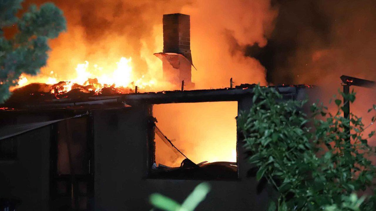 Noch ein Brand in Hohenschönhausen