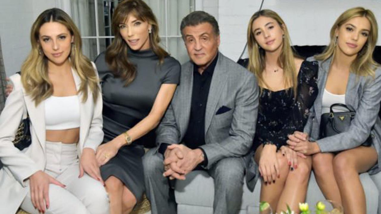 Sylvester Stallone Says He 'Can't Locate' Three Gorgeous Daughters in Hilarious New Pic