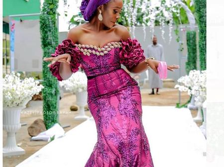 Style Inspiration: See 30 Beautiful Aso-ebi Dress Styles for Fashionistas And Wedding Guests.