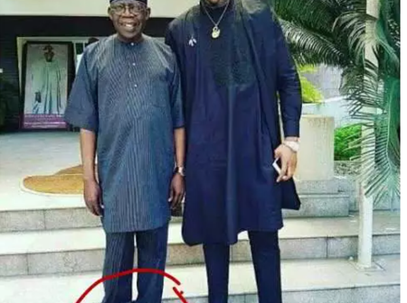 What was his tailor thinking? See this Hilarious throwback of Tinubu.