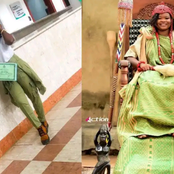 Meet Female Traditional Ruler Who Completed Her NYSC While On The Throne