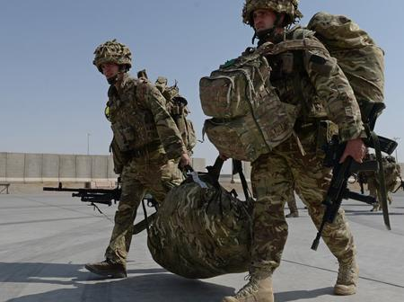 Come Home: See The Historic Moment US President Announced Withdrawal of Troops From Afghanistan