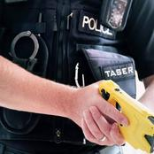 When are police officers allowed to use Tasers?