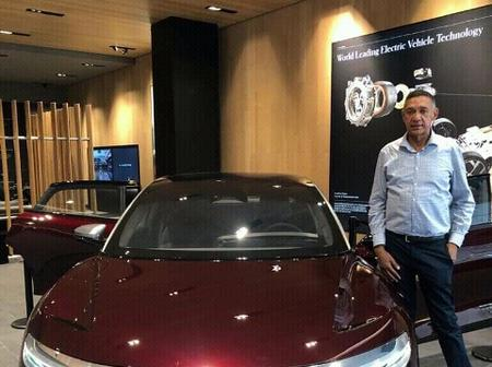 Checkout Ben Bruce Electric Car That Is Capable Of Having More Miles Per Charge Than Elon Musk Tesla