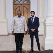 Mixed Reactions As President Uhuru Was Introduced To The New Garissa Senator Abdulkadir Haji