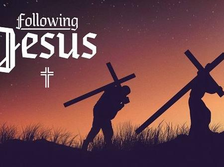 """""""To be my follower, you must love me above your father and mother"""" - Jesus"""
