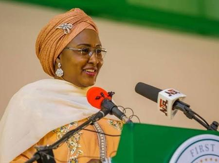 Days After Buhari's Wife Returned From Dubai, See What She Did To Empower Youths & Women In Nigeria