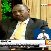 Dp Ruto Boldly Says That He Organized & Executed Govt Projects Before His Roles Were Taken From Him