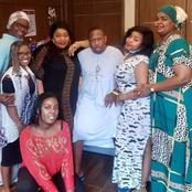 Mike Sonko Pose In A Family Photo from His Hospital Bed, Requests Kenyans to Pray for Him