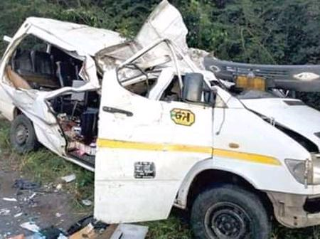 Road accident on New Year 2021