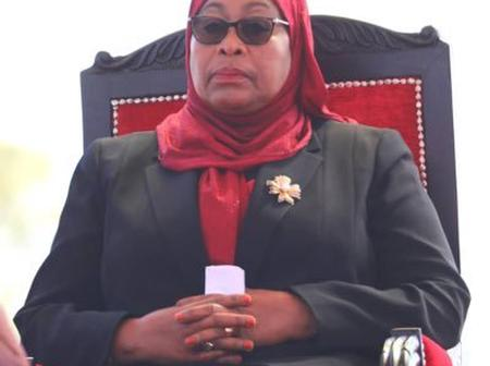 Meet The Only Four Prominent Women President Suluhu Samia Follows On Twitter