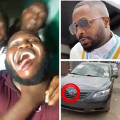 After Tunde Ednut Gifted This Comedian A New Car, Look At How Brodashaggi And Others Reacted