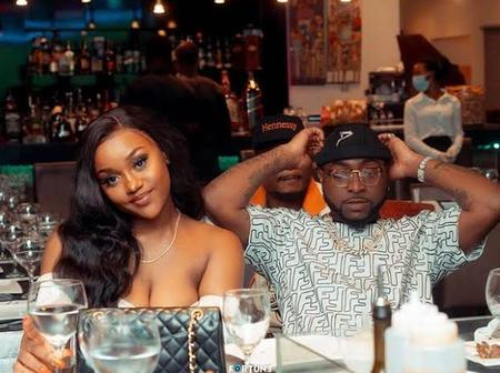 See What Chioma Did To Davido's Pictures On Her Instagram