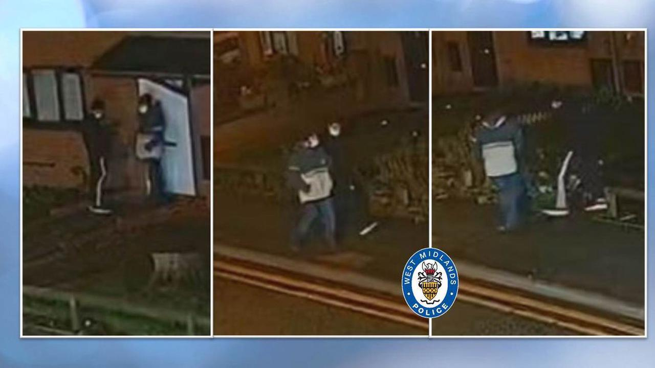 Appeal launched to trace Wolverhampton burglary suspects