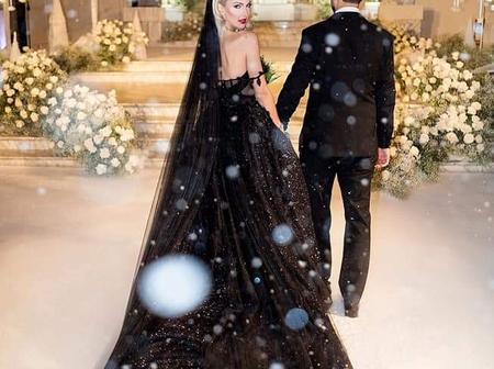 What It Means To Wear A Black Wedding Gown On Wedding Day