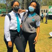 Check out these amazing high school girls wearing face masks. See their pictures