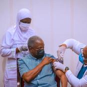 President Buhari And I Received The COVID-19 Vaccine This Afternoon - Osinbajo Shares Photos