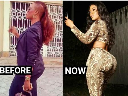 Photos: See The Amazing Transformation Of This 34-Year-Old Nollywood Actress