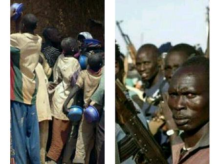 20yrs ago they were holding plates as Almajiris, now they are armed with Ak47 as bandits