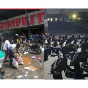 After Hoodlums Attacked ShopRite, See Pictures Of The Alleged Looters Caught (Photos)