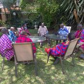 Raila Handed Precious Gifts From Rift Valley County Delegation after Crucial Meeting (Photos)