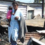 Heartache for Cape Town mother who lost two children in shack fire