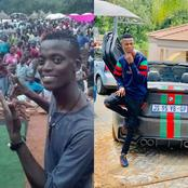 Everything is possible with money! See the pictures of King Monada before and after famous!!