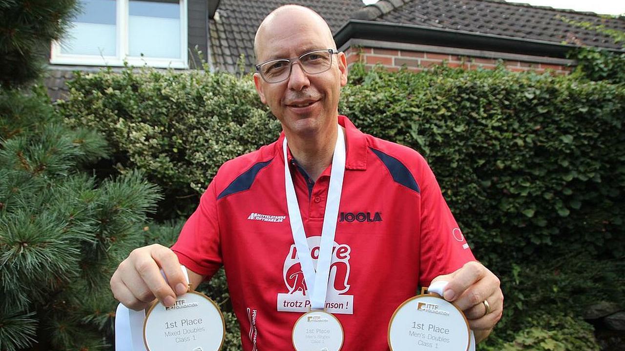 Verler mit Parkinson holt dreimal Gold bei WM in Berlin