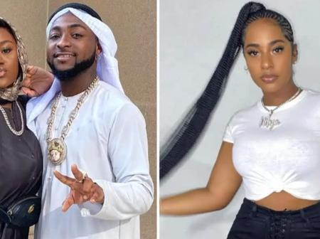 Reactions as loved up pictures of musical sensation, Davido, with a lady surfaces online (Photos)
