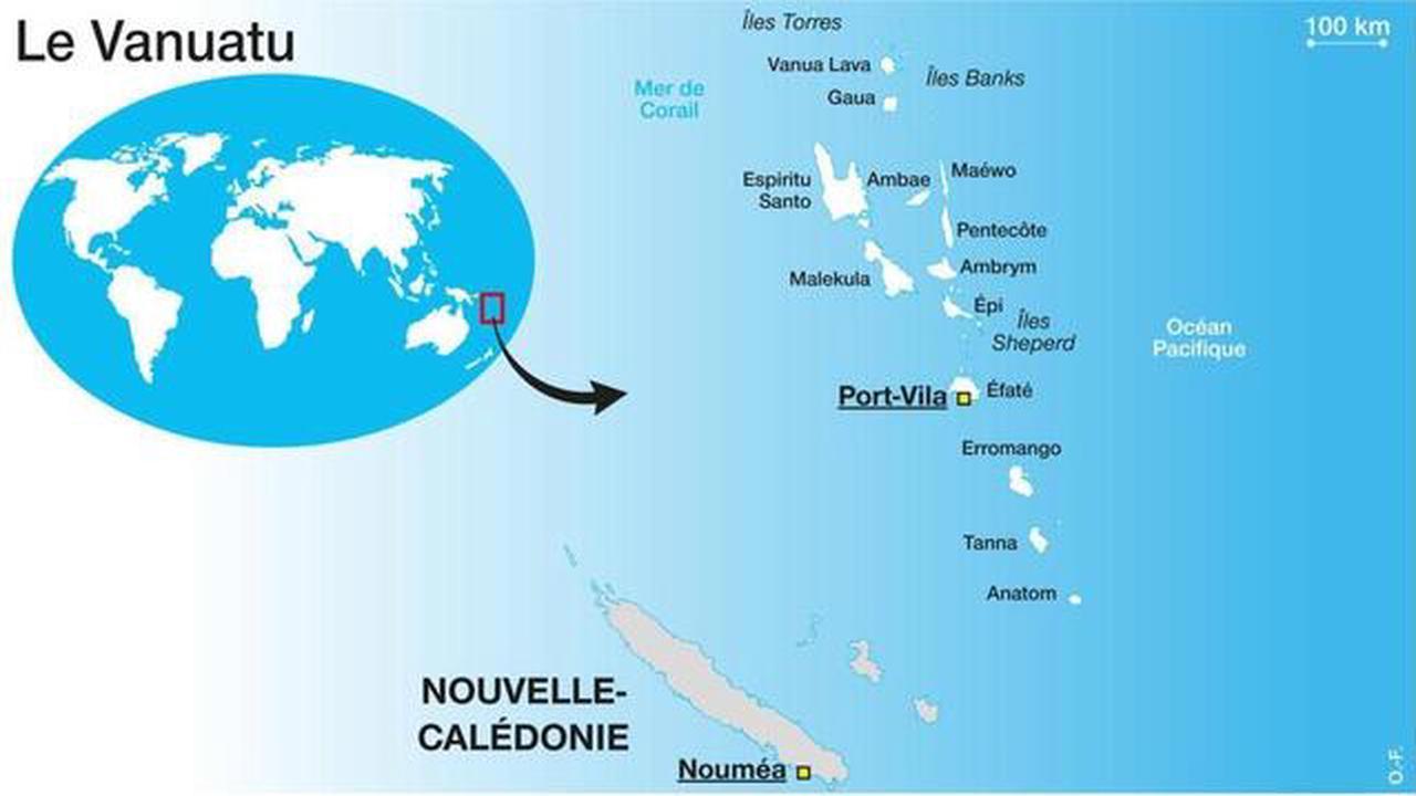 Un séisme de magnitude 6,2 secoue la capitale de l'archipel du Vanuatu  - Rennes.maville.com