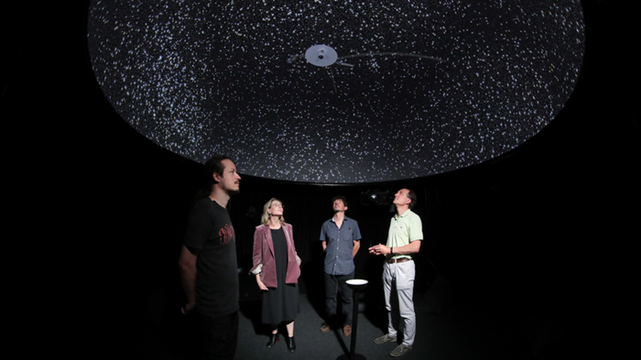 Explore the Most Detailed 3D Map of the Universe with Virtual Reality
