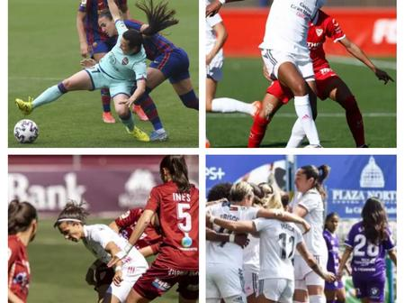 After Barca Women Won 7-1 And Real Madrid Won 4-0, See Primera Feminine Table And Top Scorers