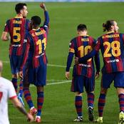 Match Analysis: Barcelona The Toothless Bulldog Was Barking And Biting Against Sevilla [Photos].