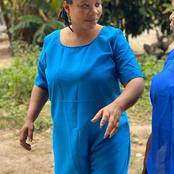 Fans React As Actress, Wumi Toriola, Shares Pictures From Prison Yard
