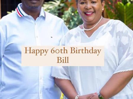Kabogo's Wife Does This Romantic Thing on His 60th Birthday