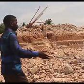 Man Cries Out After His House Worth N700million Was Demolished Within Few Hours In Enugu (Video)